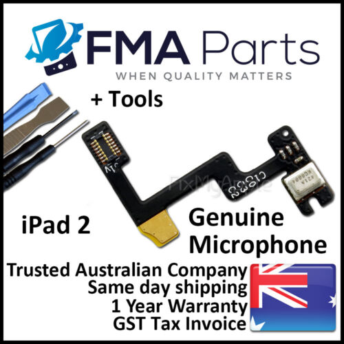 iPad 2 Original Genuine Microphone Mic Transmitter Flex Cable Replacement Tools