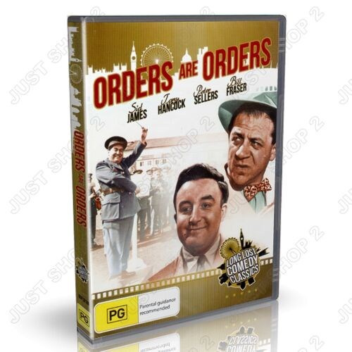 Orders Are Orders 1954 : Peter Sellers, Sid James : British Comedy : New DVD