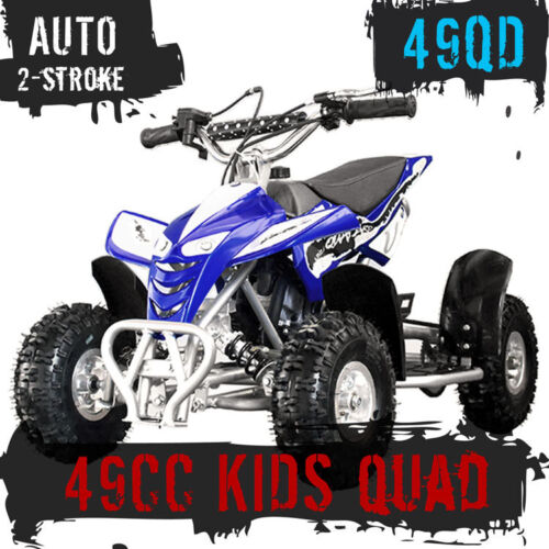 NEW 49CC STARTER MINI QUAD BIKE ATV BUGGY KIDS 4 WHEELER POCKET PIT DIRT BIKE  <br/> SPEED LIMITER - BLUE GREEN BLACK PINK - SYDNEY