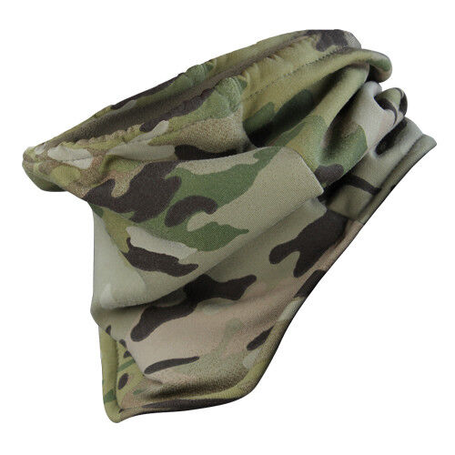 CONDOR MULTICAM NECK WARMER FLEECE LINED NECK GAITER SCARF EASY CARE MADE IN USA