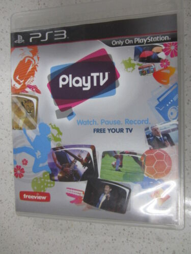 Play TV PS3 Game Disc Only USED