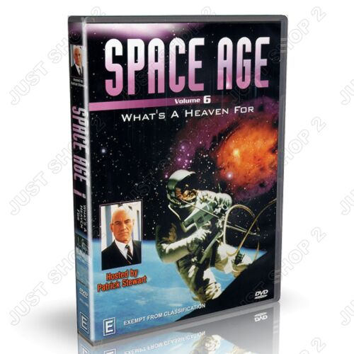 Space Age DVD : What's A Heaven For : Universe Documentary : Brand New