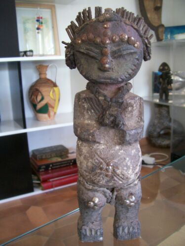 old little African statue african art africain primitif premier tribal