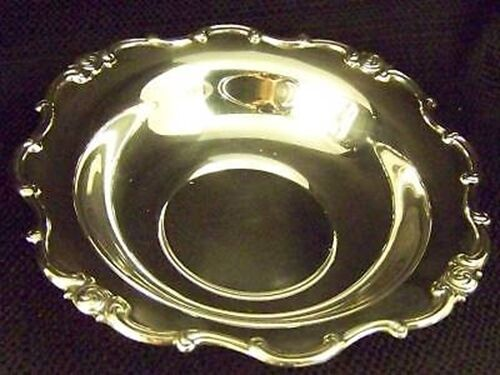 GORHAM SILVER RONDO LIKE MELROSE PATTERN BON BON BOWL / SERVING TRAY / DISH