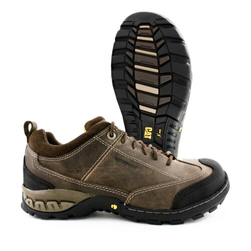 Caterpillar SIdeshift Steel Toe Waterproof Brown Leather Work Shoe P90225