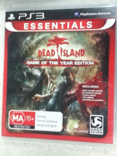 dead island Game Of The Year Edition PS3