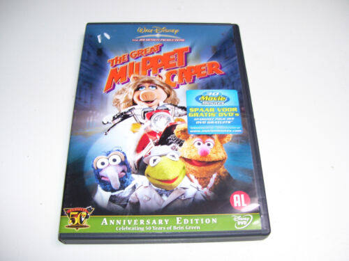 The Great Muppet Caper ANNIVERSERY EDITION 50 YEARS * DVD 2006 *
