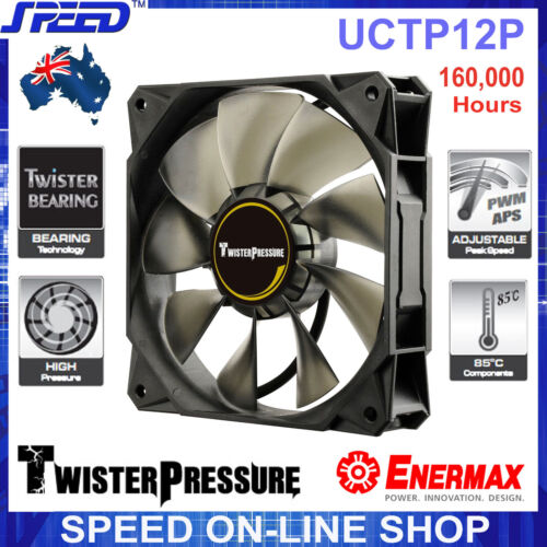 Enermax UCTP12P Twister Pressure Silence 120mm APS PWM 160,000 hrs Cooling Fan
