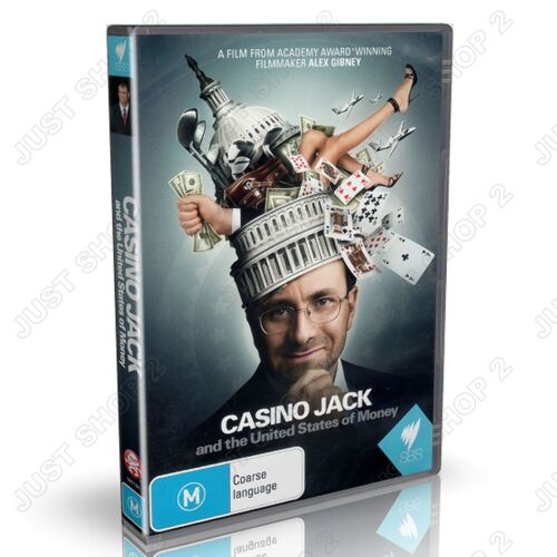 Casino Jack And the United States Of Money DVD : SBS Documentary : Brand New
