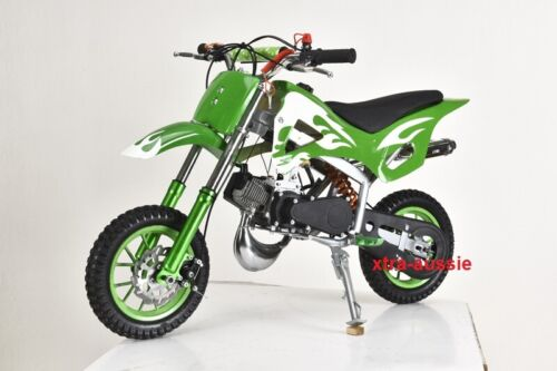 49CC MINI MOTOR DIRT BIKE KIDS POCKET ROCKET PEE WEE MOTORCYCLE ATV 50CC <br/> SYDNEY SELLER - BLUE, GREEN, RED, PINK, BLACK, YELLOW