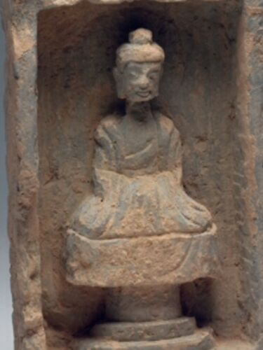 SEATED BUDDHA IN NICHE