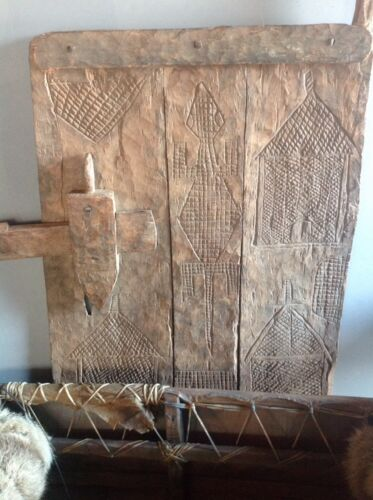 DOGON OLD AFRICAN GRANARY DOOR