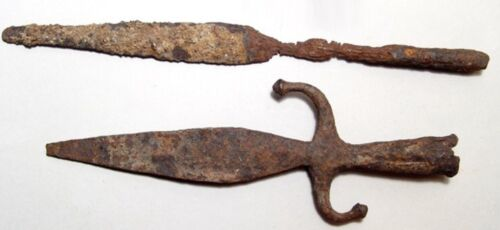 KUSHAN IRON WEAPONS - 8TH - 10TH CENTURY
