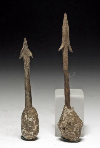 ROMAN LEAD & IRON PLUMB BOBS  CA.  1ST - 4TH CENTURY