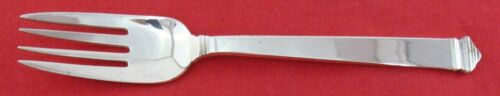 "HAMPTON by Tiffany Sterling Silver 6 1/4"" DESSERT FORK, No Monogram"