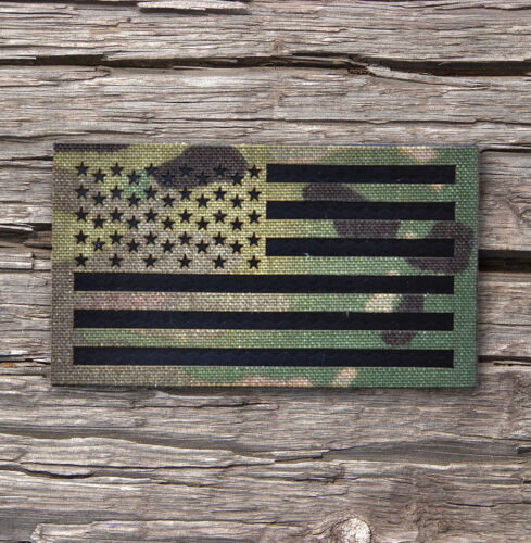"""Standard Infrared reflective Multicam IR US Flag Patch 3.5x2"""" Special ForcesArmy - 48824"""