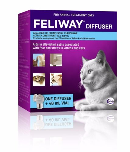 Feliway for Cats Diffuser Set - Constant Calming and Comfort for Cats <br/> Money Back Satisfaction Guarantee - Genuine AU Stock