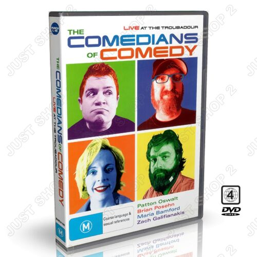 The Comedians Of Comedy DVD : Zach Galifianakis & More : Brand New
