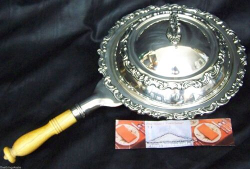 RARE ROCOCO GORHAM SILVER HANDLED COVERED TUREEN BOWL -our FineThings4sale