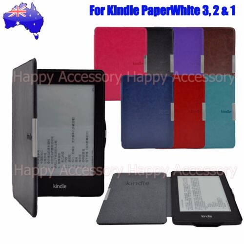 Leather Case Cover for Amazon 7th Gen Kindle 7 2014, Kindle Paperwhite 3,2,1