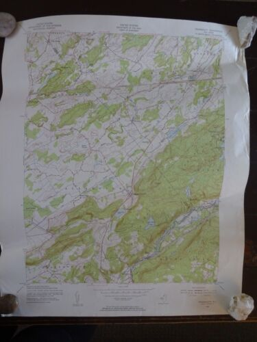 1954 - ANTIQUE Map / Tranquility Quadrangle, New Jersey - Topographic