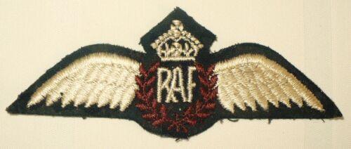 WWII ROYAL AIR FORCE RAF WING PATCHMedals, Pins & Ribbons - 156422
