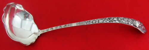 """Gorham CLUNY Sterling Silver 10 5/8"""" SOUP or OYSTER LADLE"""