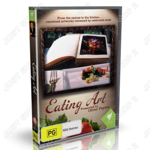 Eating Art DVD : (2-Disc Set) : SBS Documentary : Brand New