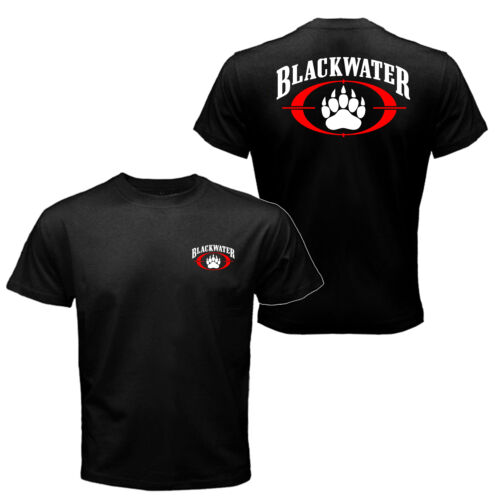 The Blackwater Logo Worldwide Security Private Military Black Water T-shirt TeeOther Militaria - 135