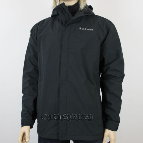 "New Mens Columbia ""Redwood Peak"" EXS Omni-Shield Rain Wind Jacket Coat"