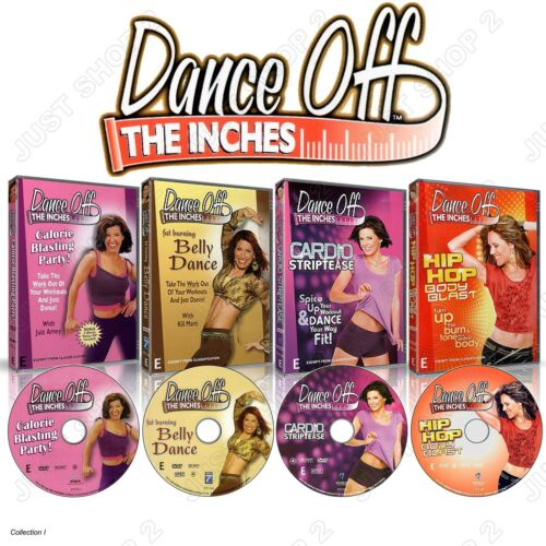 Dance Off Inches Exercise DVD Set : New