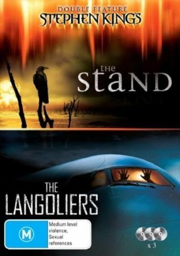 STEPHEN KING The STAND+LANGOLIERS DVD TV MINI-SERIES TOP 1000 OUTSTANDING NEW R4