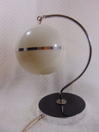 AMAZING ANTIQUE ART DECO FUNKY MODERN STYLE HANGING GLOBE TABLE LAMP CHASE?