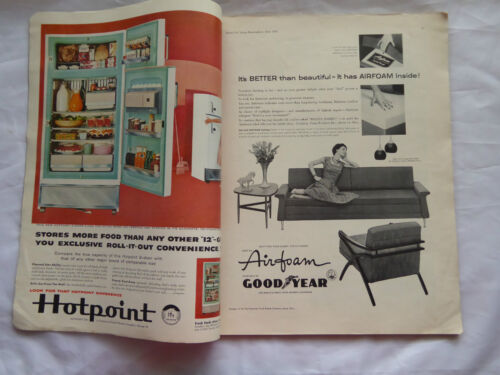 Living for Young Homemakers June 1958  Vintage Design Reference  LAYBY AVA