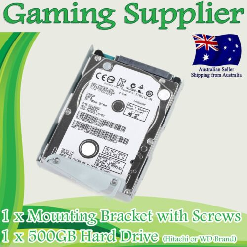 500GB PS3 Super Slim Hard Disk Drive HDD + Mounting Bracket for CECH-400x Series