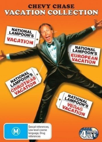 NATIONAL LAMPOON's VACATION Collection DVD CHRISTMAS 4-MOVIES CHEVY CHASE NEW R4