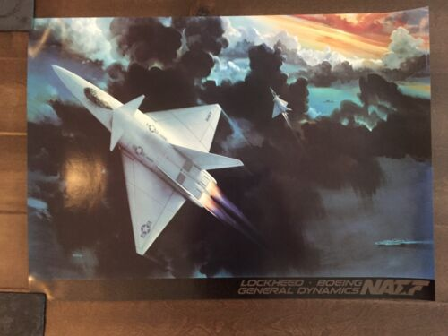 Glossy IN COLOR NATF Aircraft poster- circa 1990sReproductions - 156452