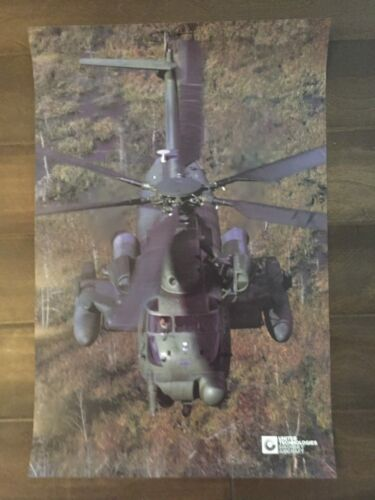 Glossy IN COLOR United Technologies Sikorsky Aircraft Poster- circa 1990sReproductions - 156452