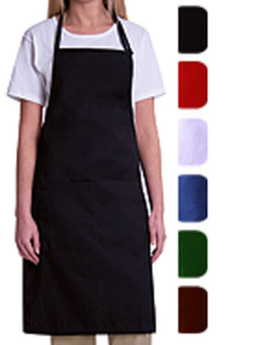 1  PIECE NEW SPUN POLY KITCHEN COMMERCIAL RESTAURANT BIB APRON <br/> BEST DEAL ON THE NET. SHIPS FROM MIAMI USA.