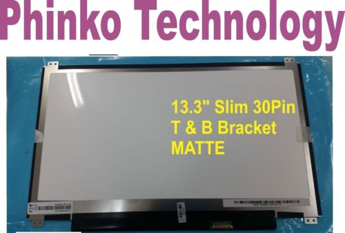 """NEW HB133WX1 -402 V3.0 13.3"""" Slim 30pin Screen MATTE N133BGE-EAB WITHOUT Touch"""