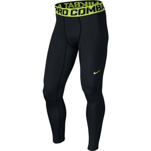 Nike Pro Combat Hyperwarm Compression Lite Men's Tights Style 596297-014