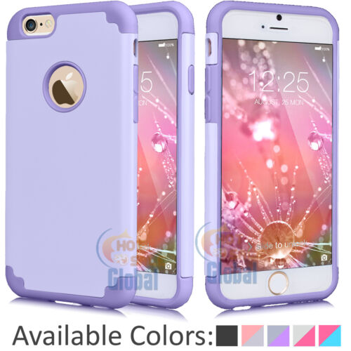 Shockproof TPU Rubber Ultra Thin Protective Hard Case Cover For iPhone 6 6S Plus