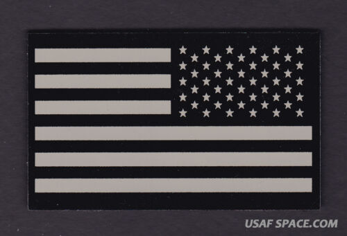 AUTHENTIC US MILITARY IR INFRARED Reverse Facing US FLAG PATCH ~ MINTOther Current Military Patches - 36070