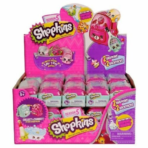 Shopkins S5 Season 5 baskets (2 pack) - Case of 30 factory sealed box
