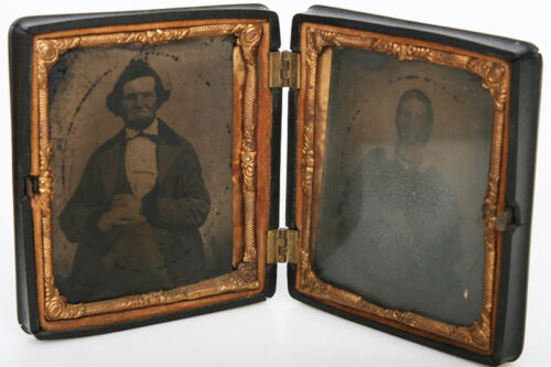 Thermoplastic Union Case With Double 6th Plate tintype Images photo