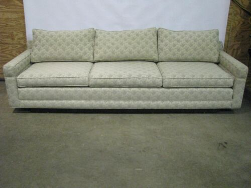 "Exceptional 100"" Long Mid-Century Modern Sofa; Probber / Baughman Style"