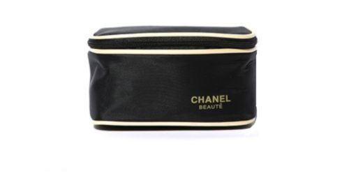 Chanel Cosmetic Makeup Brush Travel Beauty Case Gift Bag Pouch