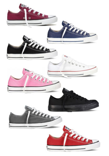CONVERSE CT ALL STAR OX - UNISEX ADULTS SNEAKERS - VARIOUS COLOURS -BRAND NEW -