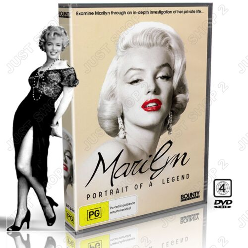 Marilyn Monroe  DVD : Portrait Of A Legend : New (Rare Documentary)