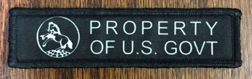 1x4 Colt AR15 Receiver Stamp Morale Patch Tactical Military Army Flag Badge HookArmy - 48824